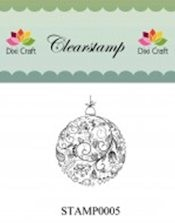 Dixi: Clear stamp; Christmas Ball
