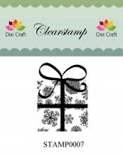 Dixi: Clear stamp; Christmas Present