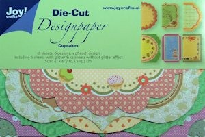 Joy!: Die Cut Design Paper; Cup Cakes