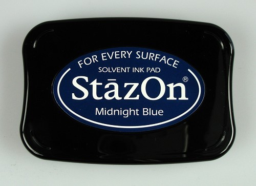 StazOn: Ink pad; MIDNIGHTBLUE