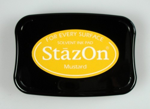 StazOn: Ink pad; MUSTARD