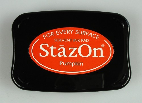 StazOn: Ink pad; PUMPKIN