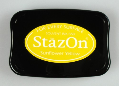 StazOn: Ink pad; SUNFLOWER YELLOW