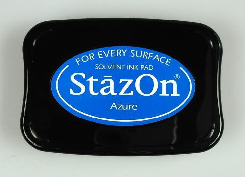 StazOn: Ink pad; AZURE