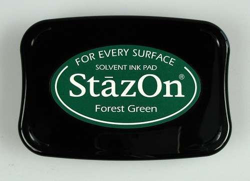 StazOn: Ink pad; FOREST GREEN