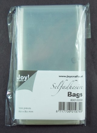 Joy!: Selfadhesive bags 60 x 80 mm, 100 pcs