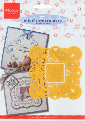 MD: Eline`s embroidery; cross stitch, vierkant