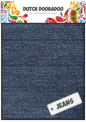 Dutch Doobadoo: Jeans blauw; Medium