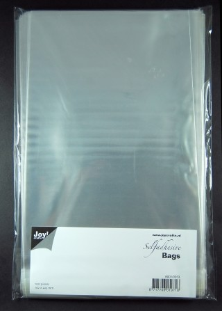 Joy!: 100 x Selfadhesive bags; 162 x 225 mm