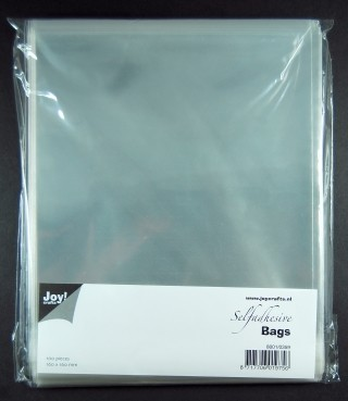 Joy!: 100 x Selfadhesive bags; 160 x 160 mm