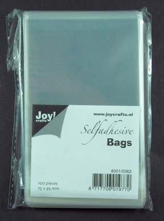 Joy!: 100 x Selfadhesive bags; 75 x 95 mm