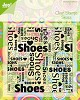 Joy!: Clear stamp; Schoenen