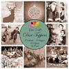Dixi: Mini toppers set 9x9 cm vintage Christmas sepia