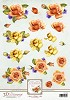 Ann`s Paper Art: Orange Roses