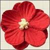 MD: Paper flowers 25 mm Red (6)