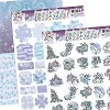 Yvonne Creations: Magical Winter; 3D set Mini`s and Labels