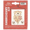 CM: Embroidery Kit; Bear with Roses