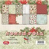 Craft&You: Small Paper Pad 6x6; North Pole