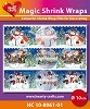 HC: Magic Shrink Wraps; Metallic, Snowmen