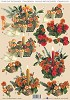 Small Beauties 3D Die Cut Decoupage: Christmas Flowers Amber