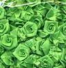 FI: Flowers 15 mm, 24 pcs; Grassgreen