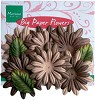 MD: Big Paper Flowers; Brown