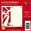 Doodey: Luxury Cardlayers 3 pcs Square: Tools