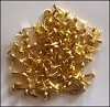 Crafts Too: brads 100 pcs; 3 mm, Gold