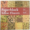 Paperblock - Yellow Flowers