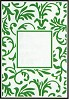 CT: Embossing Folder; Floral Frame