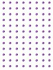 Crafts Too: zelfklevende stenen 96 pcs, 3 mm, Purple