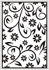 CT: Embossing Folder; Floral Summer