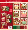 3D mini-Cards Cupcake Christmas by Nastasja van der Wal