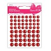DC: Shimmer Dome Stickers; Red