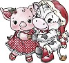 FI: Yvonne Creations; Cow and Pig