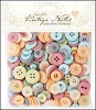 DC: Assorted Buttons 250 gram; Vintage Notes