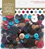 DC: Assorted Buttons (250 gr); Jewels