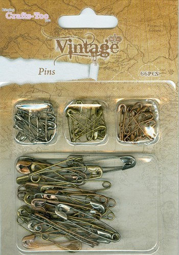 Crafts-Too: Vintage Selection; Pins