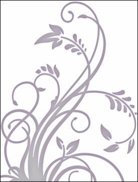 Couture Creations: Embossing folder; Plush