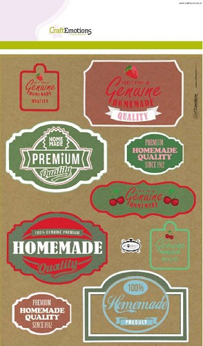 CraftEmotions: Kraft paper design: Fifties Kitchen