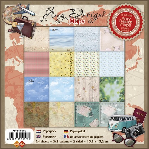 Amy Design Maps: Paperpack