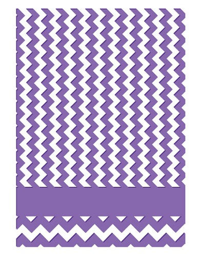 Couture Creations: Emb. Folder; Chevron