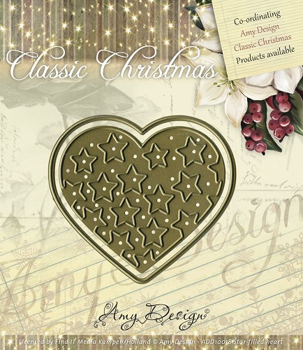 Amy: Classic Christmas; Star-filled Heart