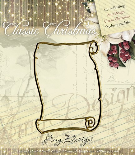 Amy: Classic Christmas; Classic Christmas - Scroll