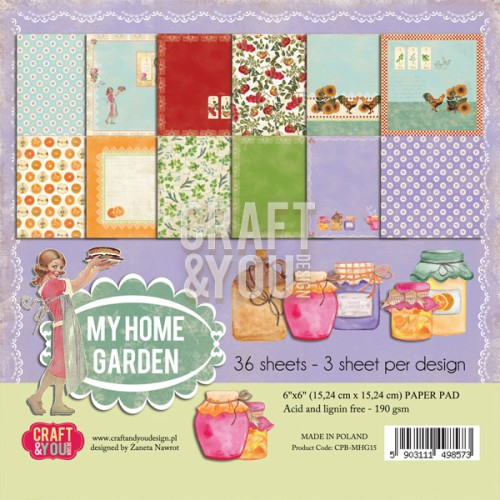 Craft and You: paperpack; My Home Garden