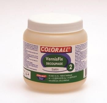 Collall: Vernisfix Decoupage 2; 250 ml, Mat - Satin