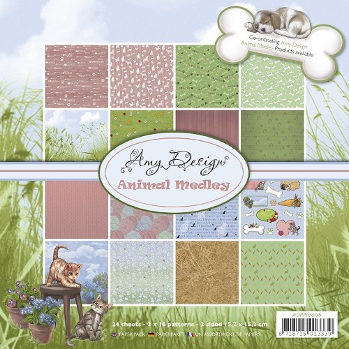 Amy: Animal Medley; Paper pack