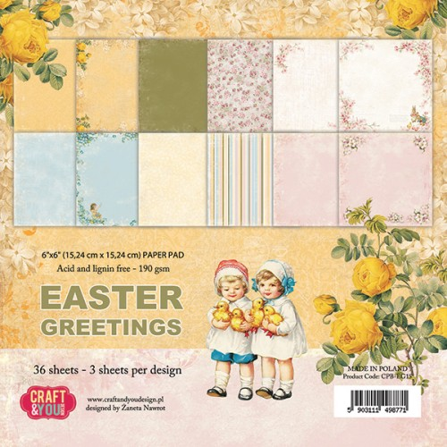 Craft and You: paperpack; Easter Greetings