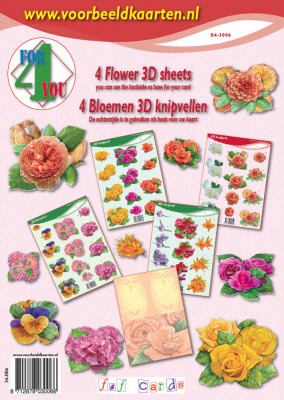 4 for you: bloemen - flowers
