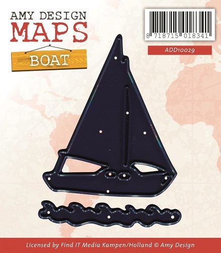Amy Design - Maps - Die - Boat